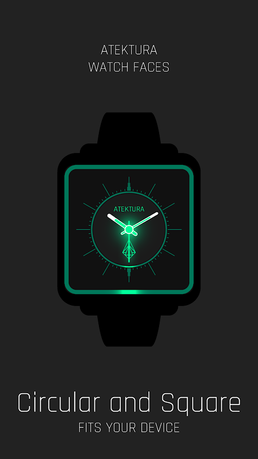 Analog Glow LITE Watch Face- screenshot