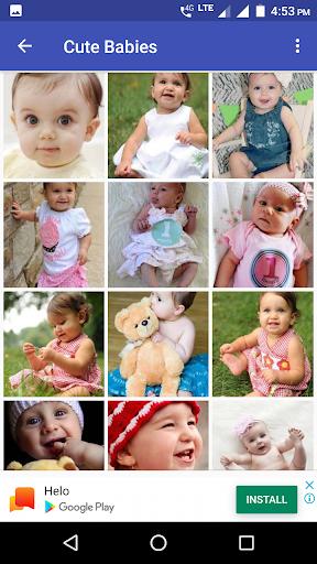 Cute Baby HD Wallpaper screenshots 3