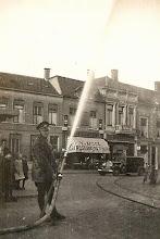 Photo: 1935 Brandweer op Haagsemarkt