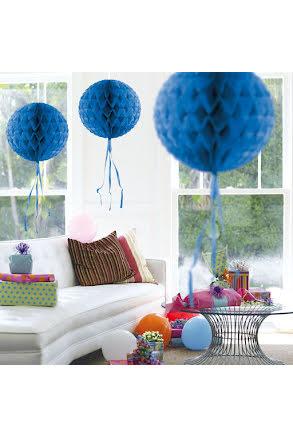 Dekorationsboll, blå