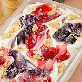 No Churn Cheesecake Ice Cream.