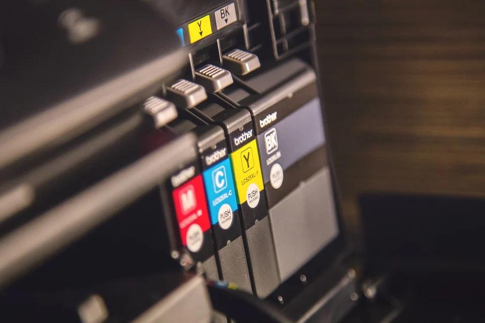 Verschillende inktcartridges