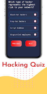 Ethical Hacking & Quiz: Beginner to Advance 2020 (MOD, Paid) v1.0.5 4