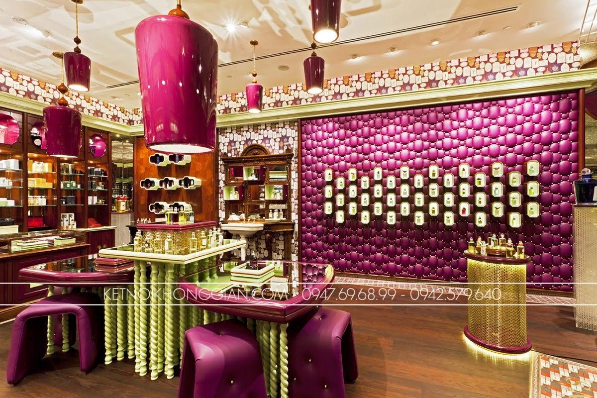 thiết kế cửa hàng nước hoa penhaligons 4