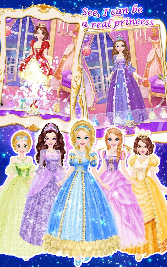 Princess Salon: Cinderella- screenshot