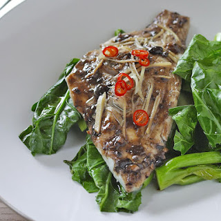 Steamed Fish with Black Bean and Chili Sauce