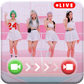 BlackPink Call You - BlackPink Fake Video Call icon
