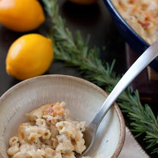 Meyer Lemon Rosemary Mac & Cheese