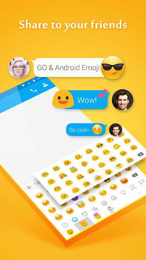 GO SMS PRO EMOJI PLUGIN Screenshot