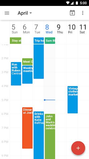 【免費生產應用App】Google 日曆-APP點子
