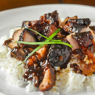 Asian Glazed Pork Belly.