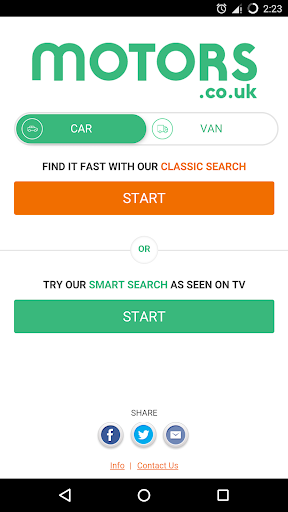 Motors.co.uk car search