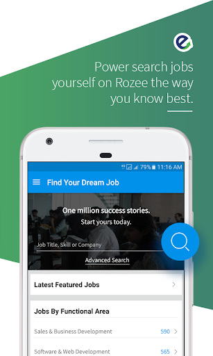 Rozee Job Search 3.8 screenshots 2