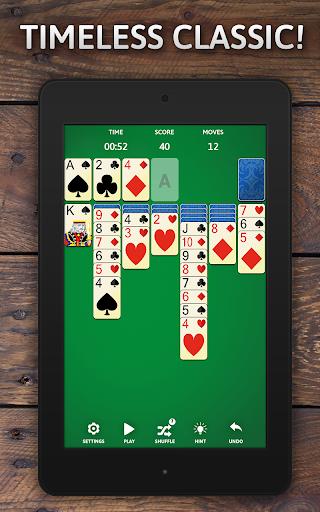Solitaire Classic Era - Classic Klondike Card Game screenshots 11