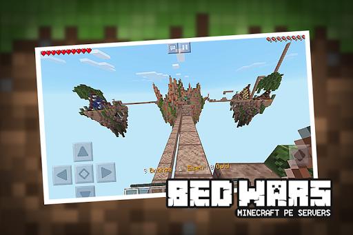 bedwars server minecraft pe download