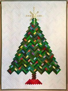 New Slant on Christmas Tree