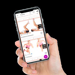 Ejercicios faciles en casa para mujeres 1.1 APK + Mod (Free purchase) إلى عن على ذكري المظهر
