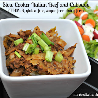 Slow Cooker Italian Beef and Cabbage
