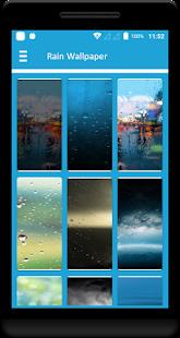 Rain Wallpaper - náhled