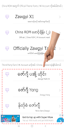 TTA MI Myanmar Font 9.5 to 10 APK screenshot thumbnail 3