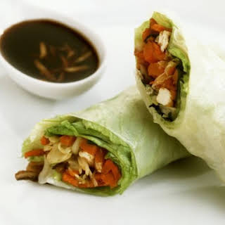 Vegetarian Nems with Soy.