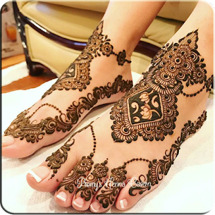 Art of Drawing Henna On Feet - náhled