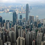 Marvellous views of Hong Kong from the secret Lugard Road in Hong Kong, , Hong Kong SAR