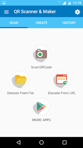 Barcode Scanner Apk Screenshot