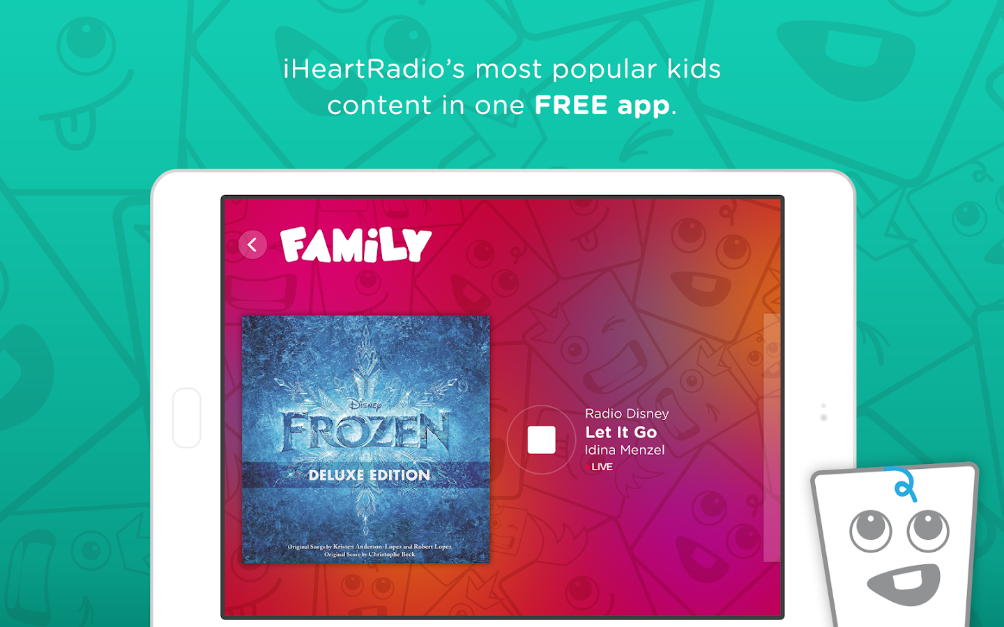 iHeartRadio Family- screenshot