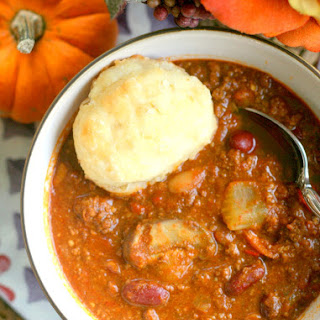 Curry Pumpkin Turkey Chili.