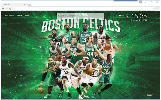 Nba Boston Celtics Wallpaper Hd New Tab Theme