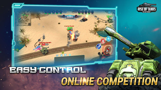 Code Triche Rise of Tanks - 5v5 Online Tank Battle APK MOD screenshots 4