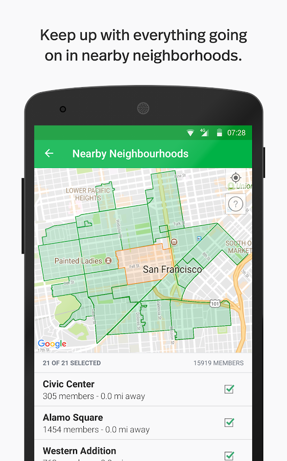 Nextdoor- screenshot