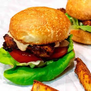 Grilled Peri Peri Chicken Burger.