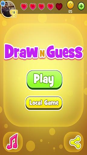 Draw N Guess Multiplayer Screenshot