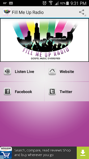 Fill Me Up Radio  screenshots 1