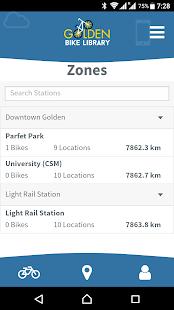 Golden Bike Library - náhled