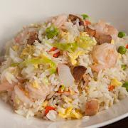 Lee Chen Fried Rice (Shrimp & Chicken)