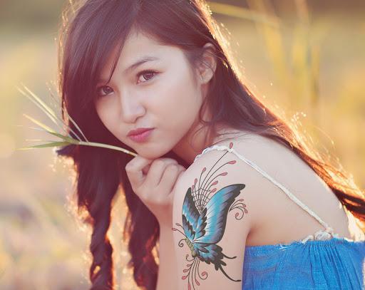 девушки азиатские фото