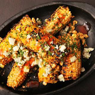 Buffalo Grilled Corn.