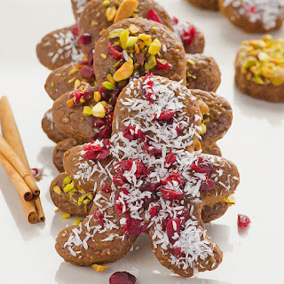 Healthy Gingerbread Cookies