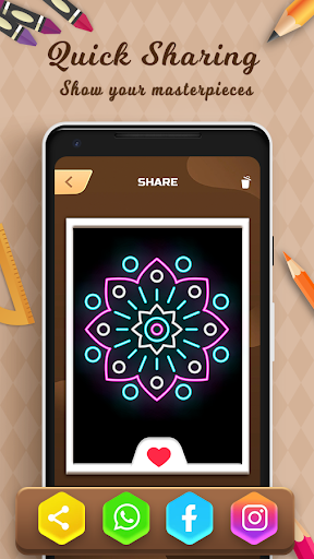 Learn to Draw - Paint by Art Coloring Book 19.0 screenshots 5