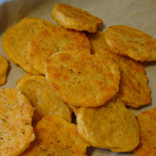 Sourdough Cheese Crackers