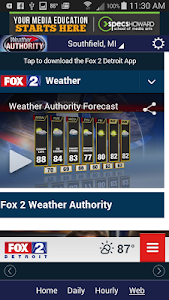 Fox 2 Weather screenshot 4