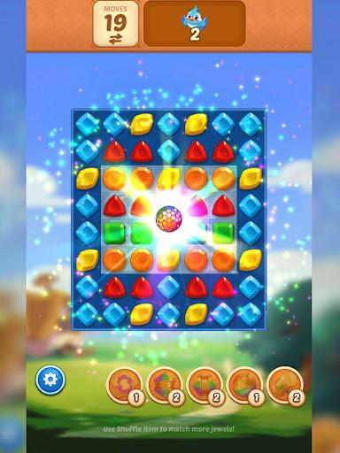 Matching Magic: Oz - Match 3 Jewel Puzzle Games screenshot 16