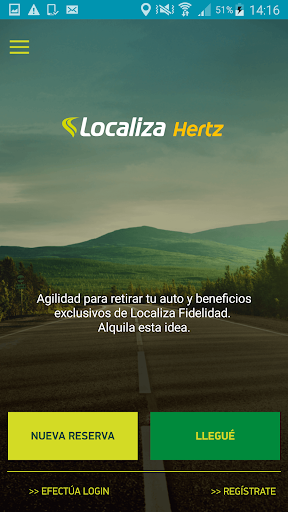 Localiza Hertz screenshot 1
