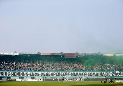FOTO: Nederlandse middenmoter ziet zijn stadion in lichterlaaie staan!