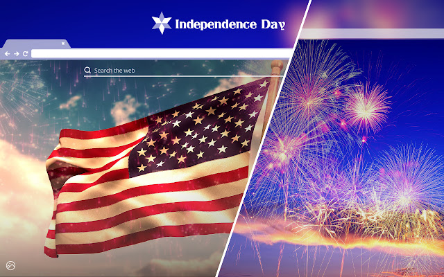 Independence Day HD Wallpaper New Tab Theme