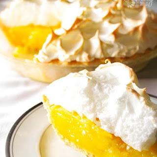 Mom's Lemon Meringue Pie.
