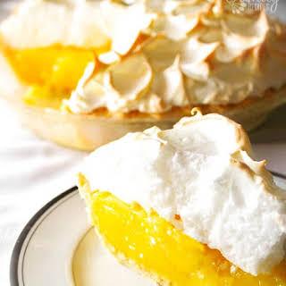 Mom's Lemon Meringue Pie.